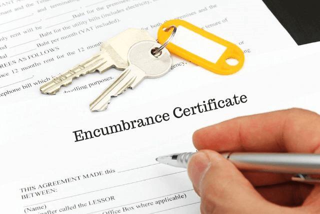 Encumbrance Certificate